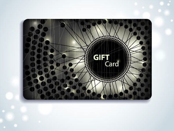 vip card background vector 5