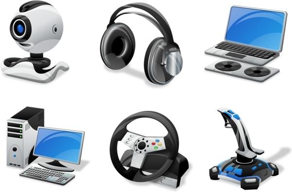 Vista Computer gadgets icons pack