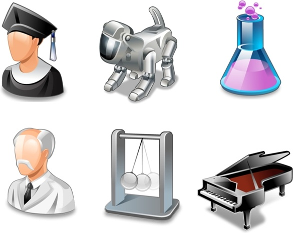 Vista Education Icons icons pack