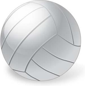 volleyball vector ai, sport vector ai illustrator design, ball vector ai design illustrator