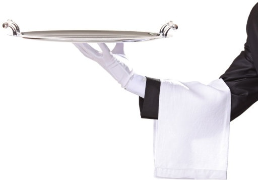 waiter tray posture 02 hd pictures