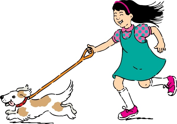 walking dog clip art free vector in open office drawing svg svg rh all free download com clip art walking guy clip art walking taco