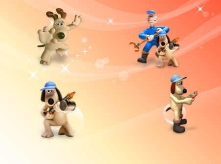 Wallace and Gromit Icons icons pack