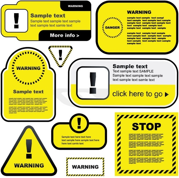 Warning Label Free Vector Download 8 741 Free Vector For