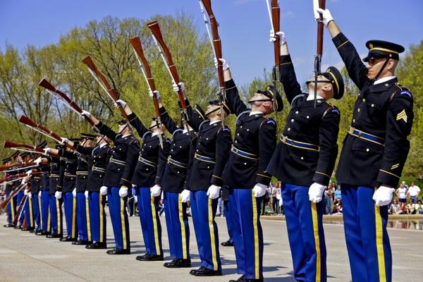washington d c drill team u s  army