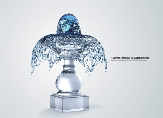 water creativity series psd layered 10