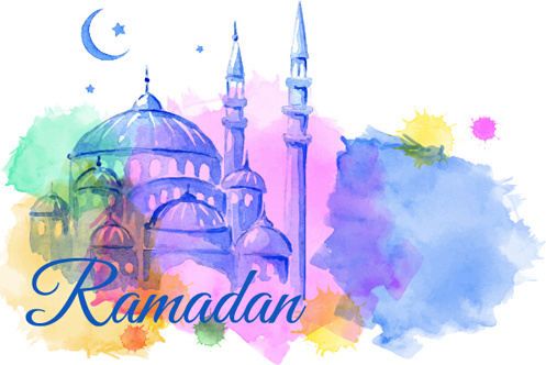 Watercolor Drawing Ramadan Kareem Vector Background Free Vector In Encapsulated Postscript Eps Eps Vector Illustration Graphic Art Design Format Format For Free Download 6 96mb