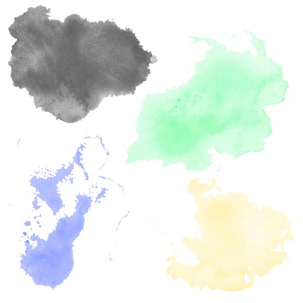 watercolor splash brushstroke