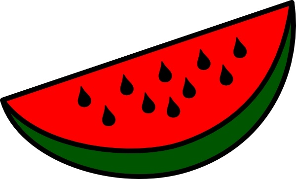 watermelon wedge clip art free vector in open office drawing svg rh all free download com watermelon clip art by panda watermelon clipart public domain
