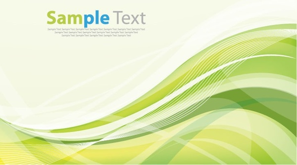 wave design abstract background vector illustration art