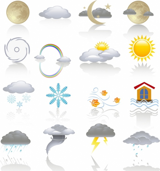 Weather Icons - Color