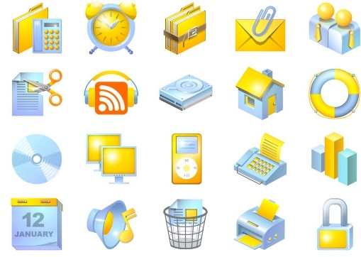 Web Application Interface icons pack
