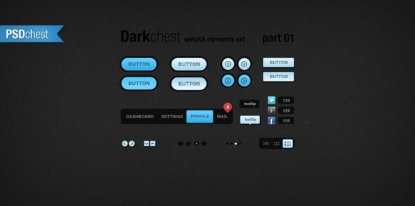 web button design 02psd layered
