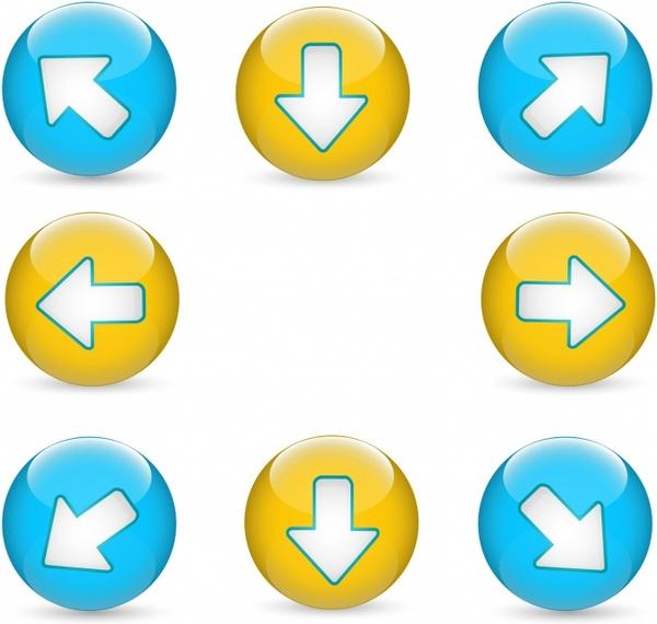 Web Buttons | Arrows