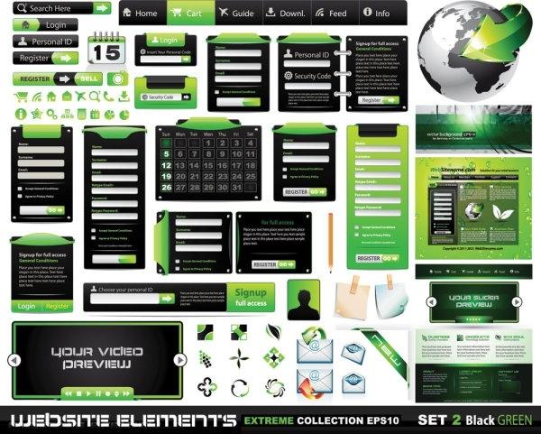 web design elements 03 vector