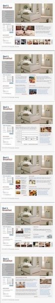 web design home psd layered
