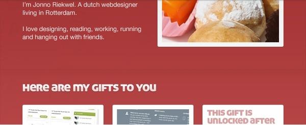 Website Portfolio Layout