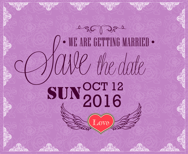Wedding Invitation Card Template Free Vector In Adobe Illustrator Ai