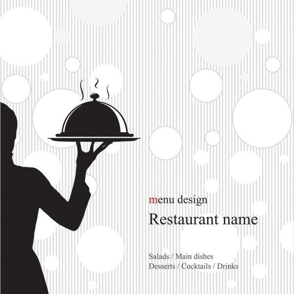 Italian Restaurant Logo With Flag: Desain Daftar Menu Minuman Dan Makanan Free Vector