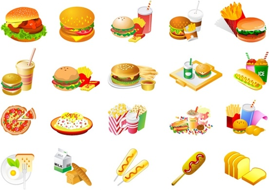 westernstyle fast food clip art free vector in adobe illustrator ai rh all free download com food clipart free black and white food clip art free printable