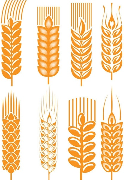 wheat free vector download  324 free vector  for flower clip art images flower clip art free images