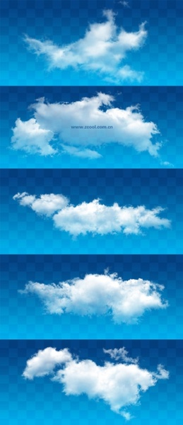 white clouds psd layered highdefinition pictures 1115