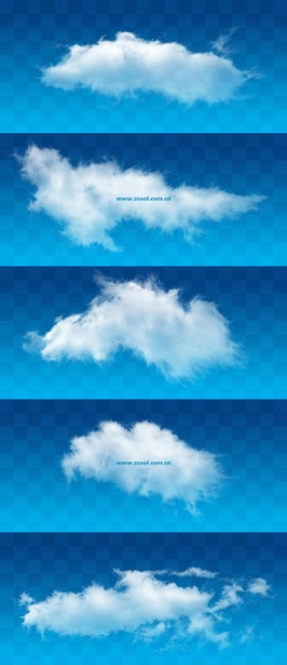 white clouds psd layered highdefinition pictures 15