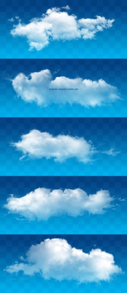 white clouds psd layered highdefinition pictures 1620