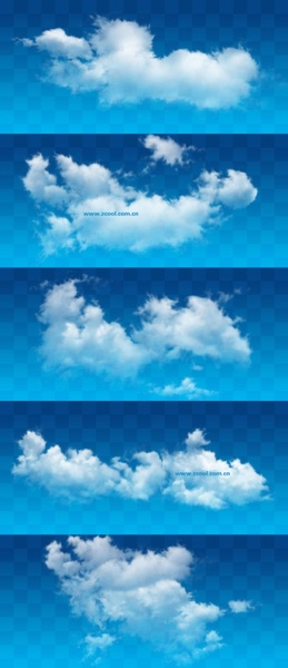 white clouds psd layered highdefinition pictures 610