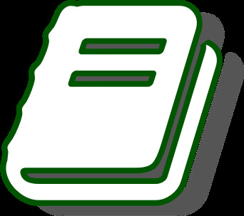 white in green border