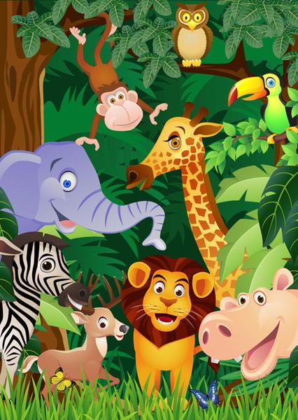 Cartoon wild animal free vector download (23 729 Free