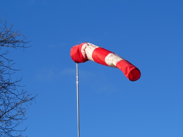 Wind direction indicator air bag since wind Free stock ...