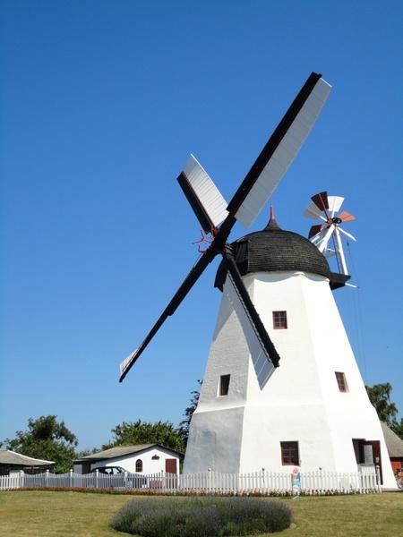 windmill mill bornholm