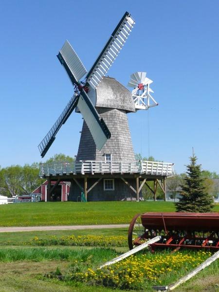 windmill steinbach mennonite heritage village