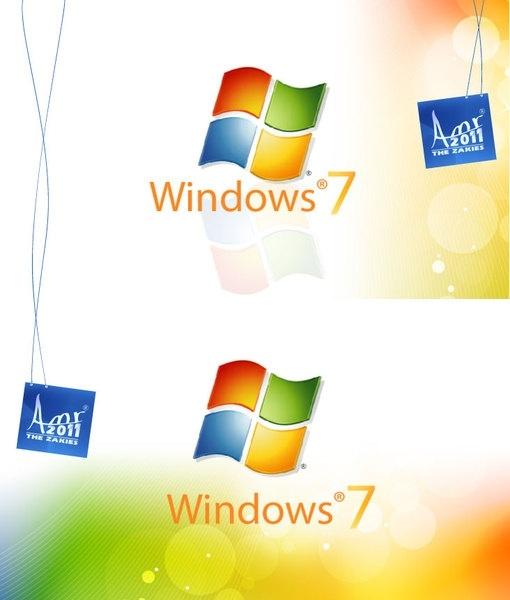 Windows 7 Wallpaper By The Zakies Free Vector In Adobe
