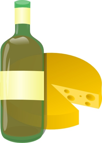 Wine And Cheese Clip Art Free Vector In Open Office