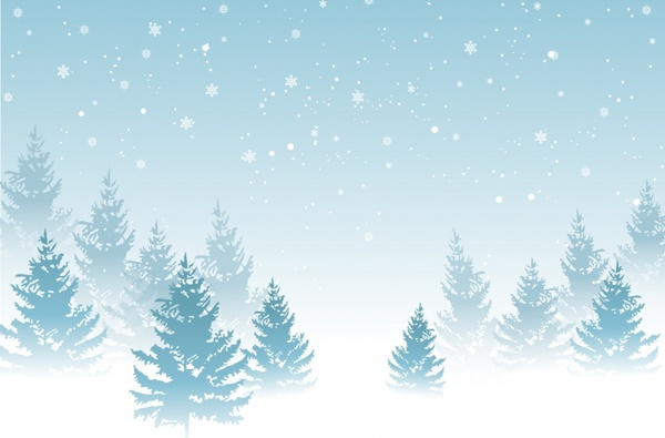 Winter Background Free Vector In Adobe Illustrator Ai Ai Encapsulated Postscript Eps Eps Format For Free Download 2 79mb