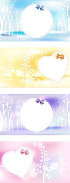 Winter Dreams Love Vector Images