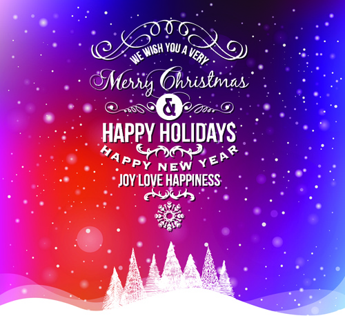 winter holiday cards vector set free vector in encapsulated