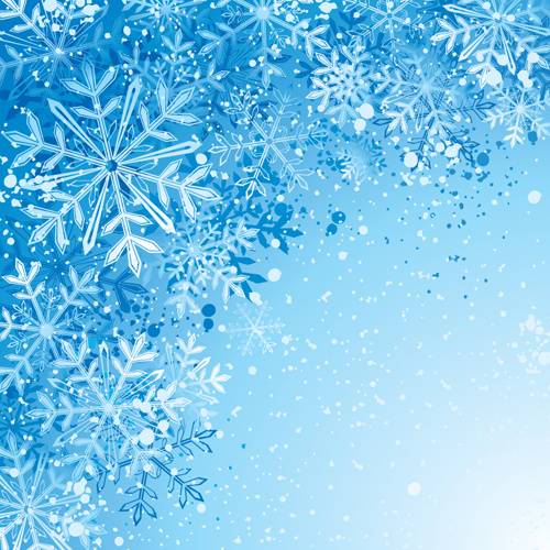 Free snowflake background vector art free vector download ...