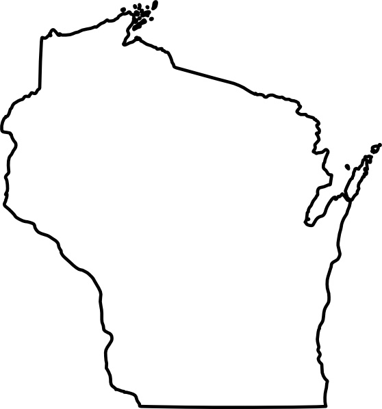 Wisconsin Clip Art Free Vector In Open Office Drawing Svg