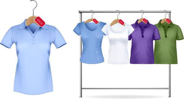 woman polo shirt sale on hanger