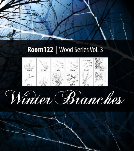 Wood Series Vol. 3 Winter Branches