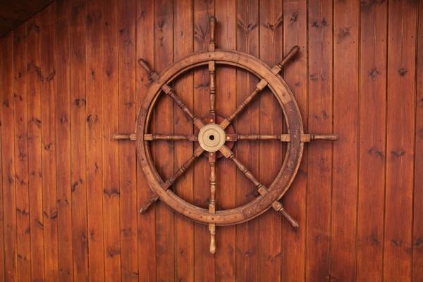 wooden helm