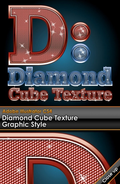 wordart diamond embedded vector