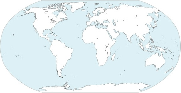 World Continents Map Vector Free vector in Adobe Illustrator ai ...