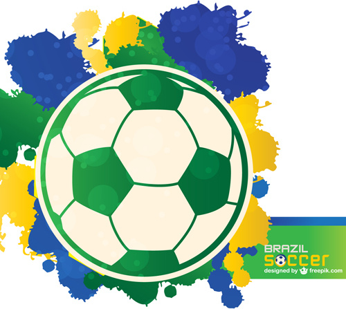 world cup14 brazil poster vector