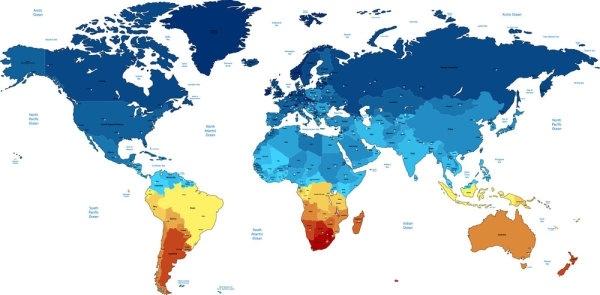 world map 05 vector