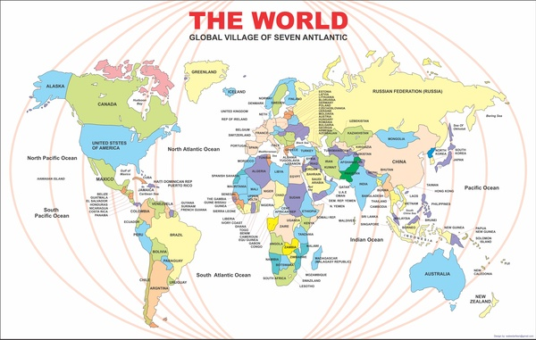 World map 2016 free vector in adobe illustrator ai vector world map 2016 gumiabroncs Images