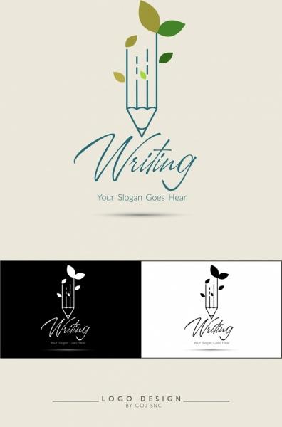 writing logotype design calligraphy decor pencil sketch